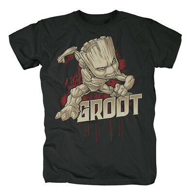Guardians Of The Galaxy - Angry Groot T-shirt
