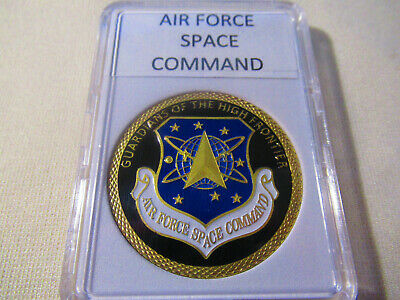 Space Force USAF United States Space Command Air Force Silver Challenge Coin #3