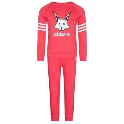 Adidas Originals Gift Set Rabbit Baby Tuta Jogger Tuta Ab1809 Nuovo-mostra Il Titolo Originale Saldi Estivi Speciali