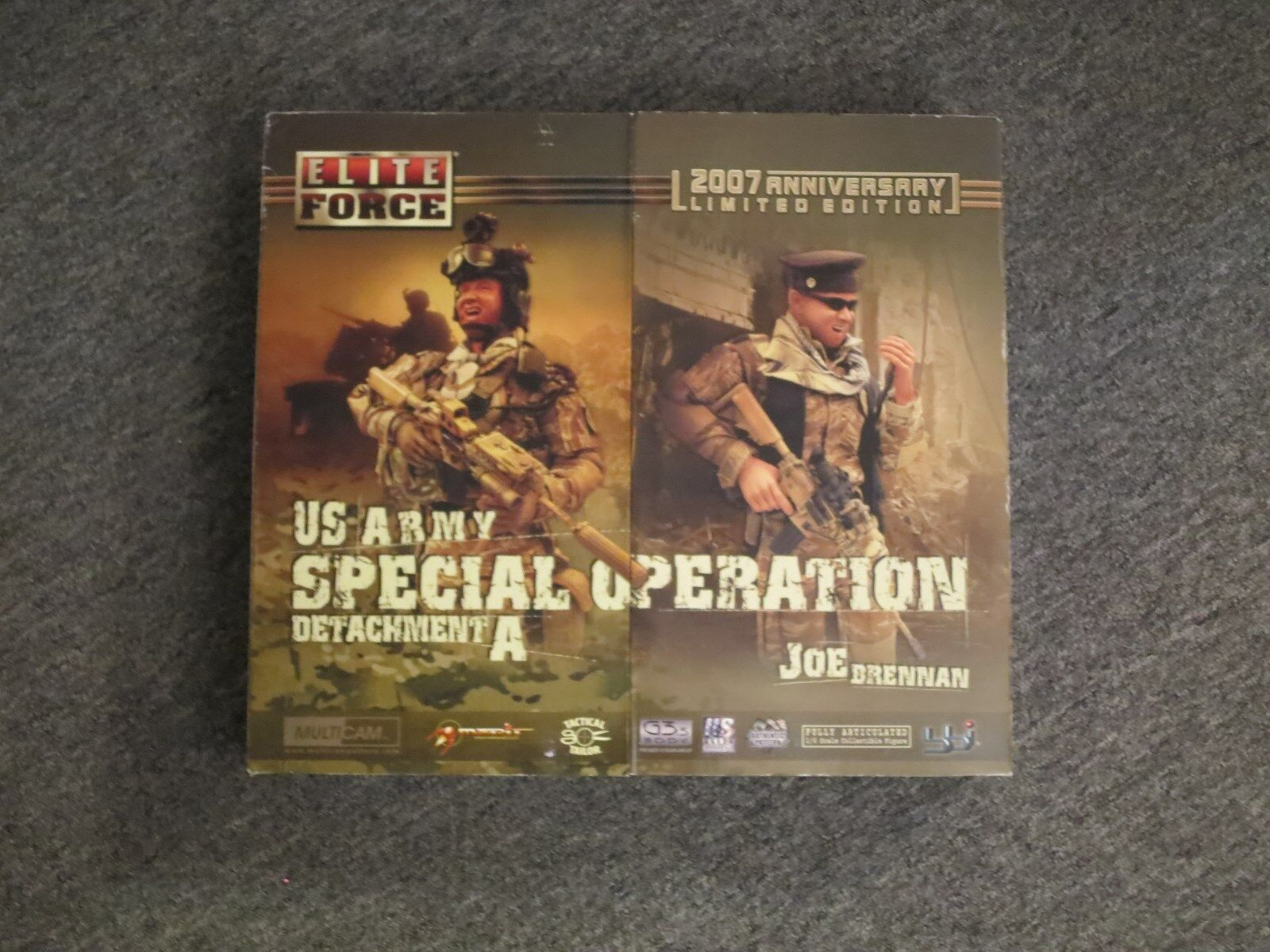 BBI Elite Force 2007 Anniversary 1/6 12  Figure LIMITED EDITION US Army SpecOps