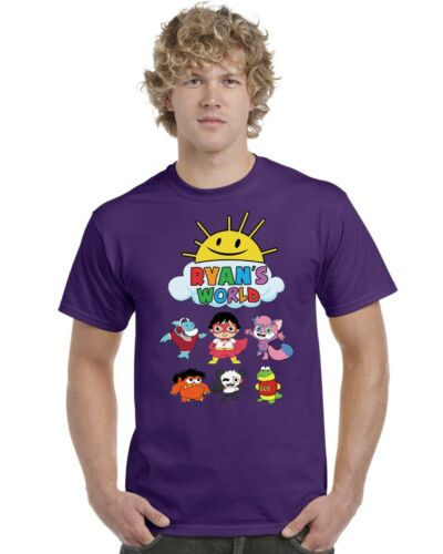 Ages 3-13 Ryans World Kids T-Shirt Ryans Toy Review Tee Top