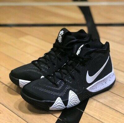 11 MEN'S Nike Kyrie 4 TB Team Basketball Black White Irving Sneakers AV2296 001 191887133438 | eBay