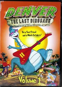 Denver-El-Ultimo-Dinosaurio-Vol-1-Nuevo-DVD-divertido-carinoso-aventuras-para-ninos