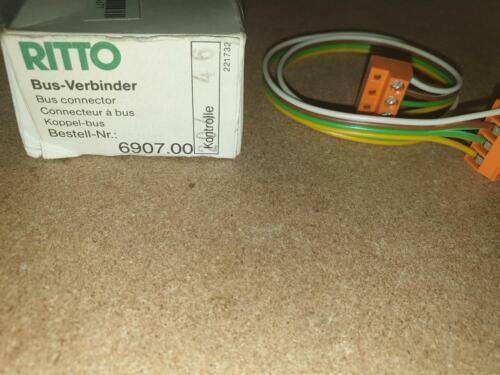 Ritto 6907.00 Bus-connecteur universel Câble Module 4 broches TwinBus 1690700 nouveau