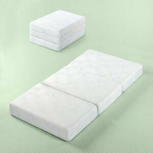 Zinus Gel Memory Foam 5 Inch Tri Fold Comfort Portable