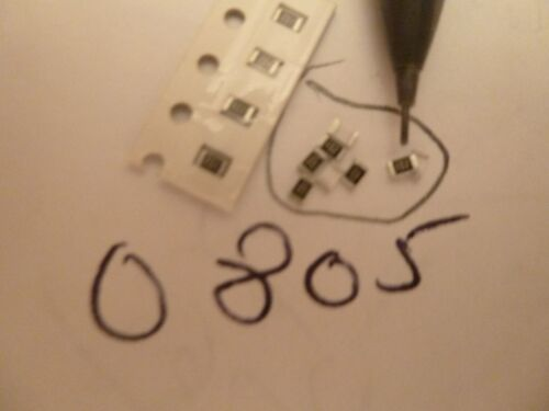 100,000pf 50v 20/% X7R 0805 Size SMD Surface Mount Capacitor 100 Pieces