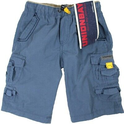 UNIONBAY BOYS CARGO SHORTS 6 SIZES 5 COLOURS FANTASTIC VALUE FREE POST BNWT