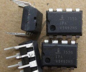 2 PCS ICM7555IPA DIP8 IC OSC MONO TIMING 1MHZ NEW GOOD QUALITY
