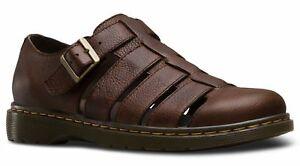 Tamaño Martens Dr Brown 7 Sandles Grizzly Fenton XAaawqP