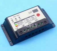 20A dual battery solar panel charge controller/regulator 12/24V for camper /boat