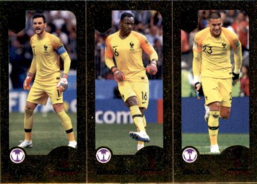 Lloris // Mandsnda // Areola Panini FIFA365 2019 Sticker 426 a//b Champions