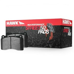 Disc Brake Pad Set-HPS Performance Street Disc Brake Pad Front Hawk Perf
