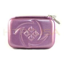 "5.2"" Inch Purple Hard Shell Carrying GPS Case Cover Bag for Garmin Nuvi 2595lmt"