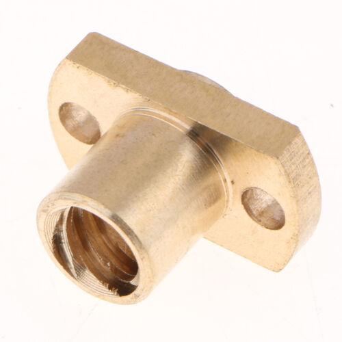 Messingmutter für 3D Druckerteile T8 8 mm Gewindespindel 2 mm CNC Maschine