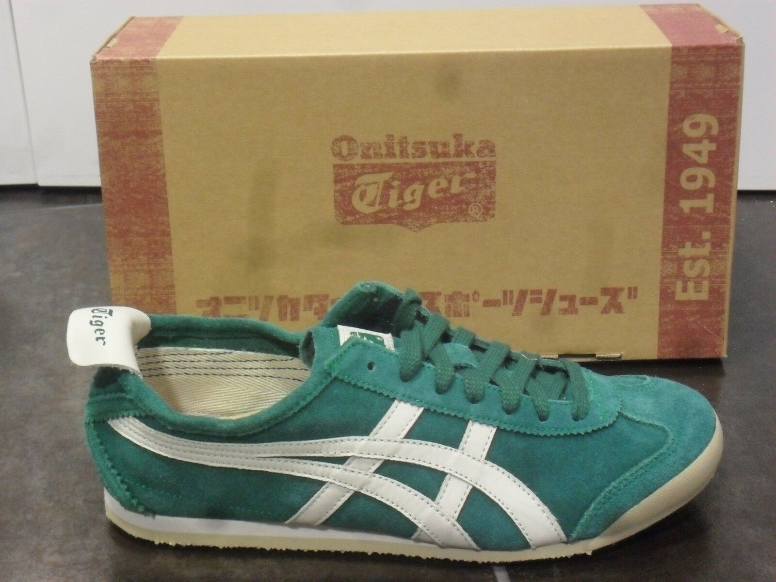 ASICS ONITSUKA TIGER MEXICO MEXICO SHOES VINTAGE VINTAGE VINTAGE SUEDE SNEAKERS SHOES 8005 0f569f