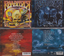 2 CD, roadfever-WHEELS on Fire (2009) + Wolf Pack (2013) Hard Rock, Sinner