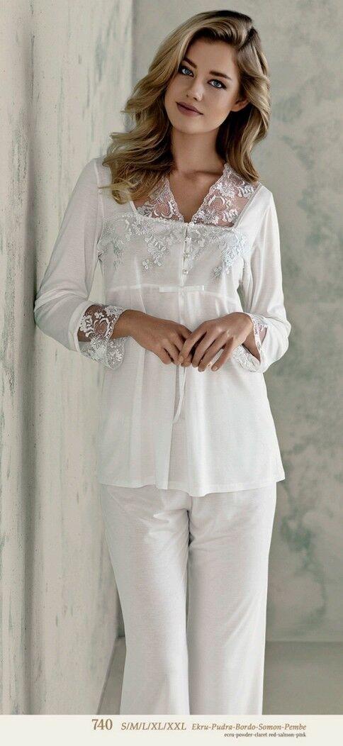 Ladies Nightwear pajama set 740 Medium
