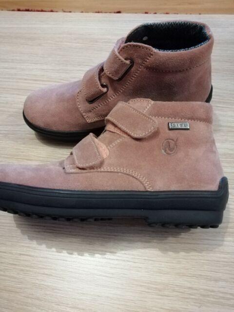 Naturino Rain Step pink leather girls