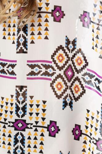 Strandkleid Kimono Jacke Boho  Sommer Bunt  Transparent