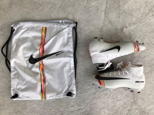 Pure Platinum//Black-white Nike Mercurial Superfly 6 Elite FG cames