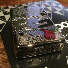 """Zippo """"85th Anniversary"""" HP Chrome Armor Lighter, Collectible of the Year, 29442"""