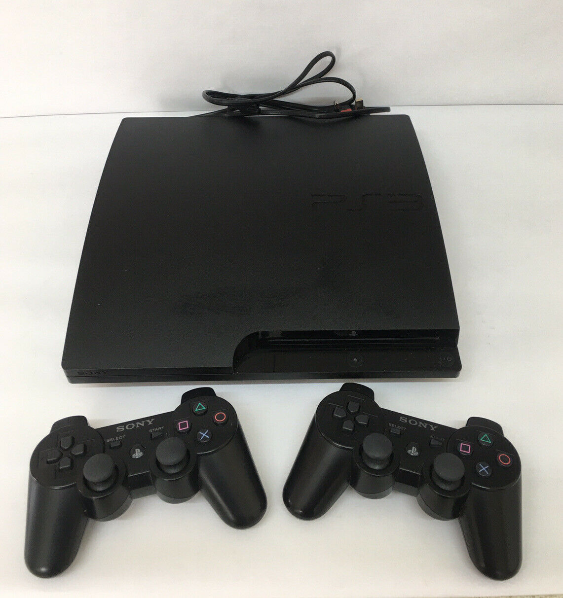 Sony Playstation 3 (PS3) Console, Power Supply & 2 Controlers. Working. No Leads