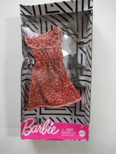 Barbie Complete Looks Fashion Pack Animal Print Dress Boots Sunglasses PKG WEAR