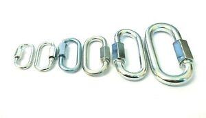 Lock fastener Quick link Extend screw Carabine.. Chain link M10-10mm