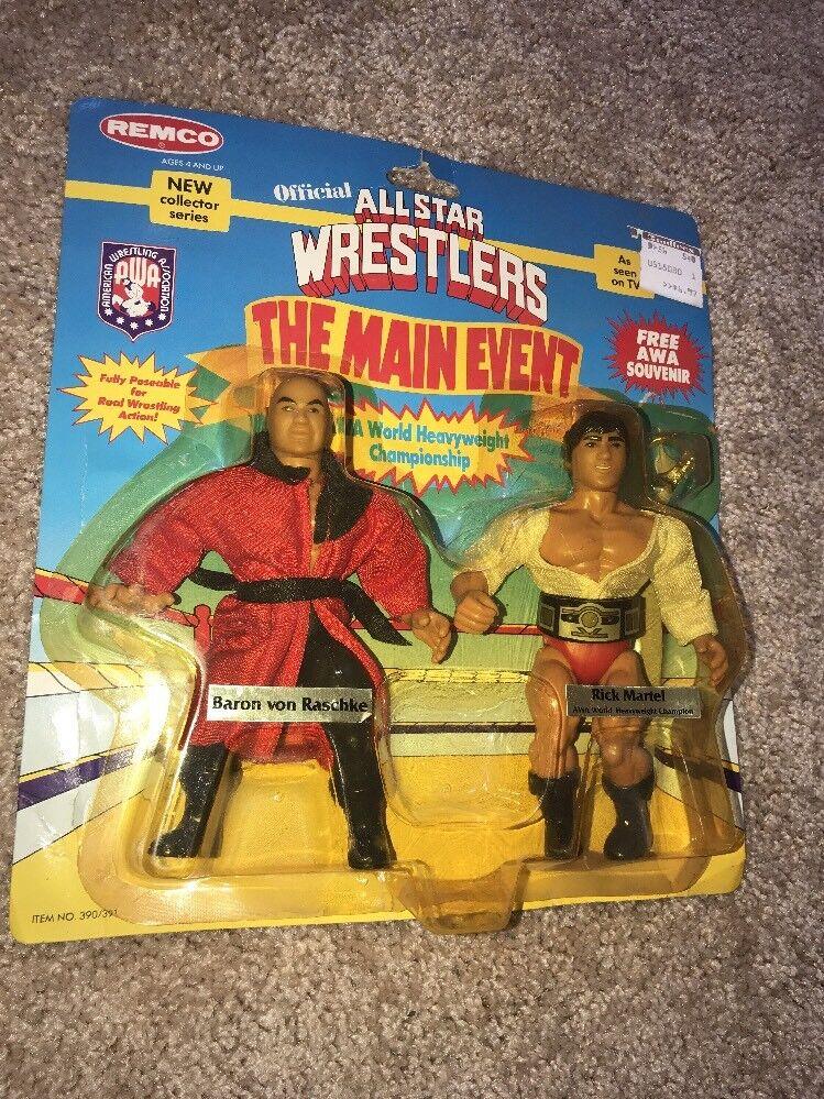 REMCO tuttiestrella Wrestlers main event Baron von Raschke Rick Martel AWA WWE