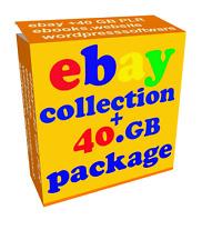 EBAY MAKE MONEY video tutorials ebooks softwares 40GB HUGE collection bonus