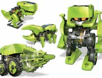 Owi T4 Transforming Solar Robot , New, Free Shipping on sale