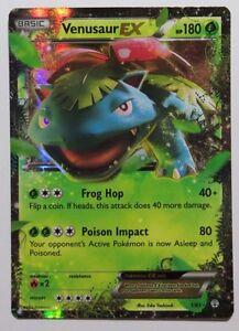 Venusaur EX 1//83 Holo Rare Pokemon Card Near Mint