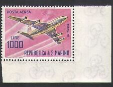San Marino 1963 Planes/Aircraft/Transport/Aviation/Airmail 1v (n34637)