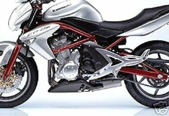 2 STAGE KAWASAKI TOUCH UP PAINT KIT 06-07 ER 6N FRAME PERSIMMON RED .