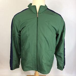 3683da9cbde7 NOS Vintage 90s Nike Windbreaker Jacket Coat Lined Cell Headphone ...