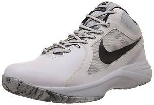 0efdb4bf617 Nike Men s The Overplay VIII White Mtlc Hmtt Pr Pltnm Blk Basketball ...