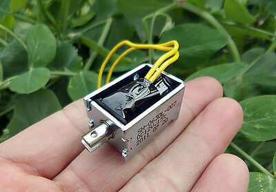 D12V Large Suction Frame Type Solenoid Electromagnet DC Micro Solenoid for DIY