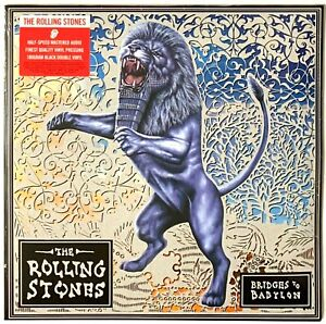 The-Rolling-Stones-Bridges-Over-Babylon-Current-Pressing-LP-Vinyl-Record-Album