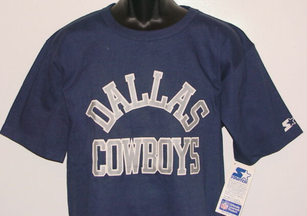 Vintage 80s 90s Dallas COWBOYS STARTER T-Shirt NFL Pro Line NWT NEW Old 2f4d6c5b4