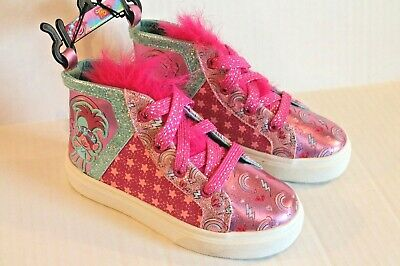Happy Vibes DreamWorks Trolls Poppy Toddler Girls High-Top Sneakers Shoes