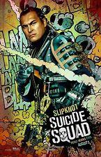 "Suicide Squad movie poster Adam Beach - Slipknot (b) - 11"" x 17"" inches"