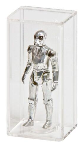 LOOSE Star Wars /& GI Joe Figures AFC-002 2 x GW Acrylic Display Cases