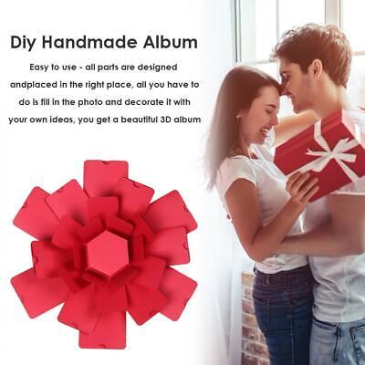 Creative Explosion Box Hexagonal DIY Photo Album Scrapbooking Bomb Box Gift