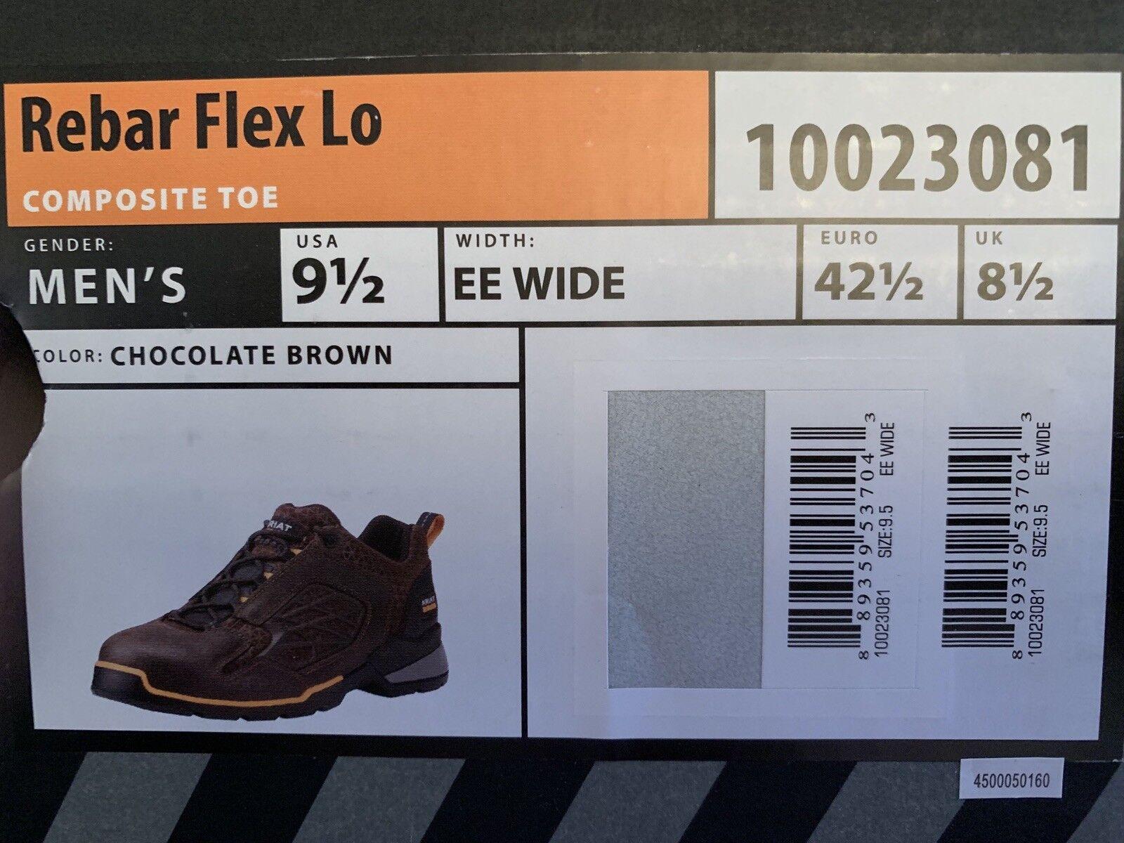 ARIAT travail-REBAR FLEX Lo - 10023081-Hommes 's Extra grand grand Marron Chocolat