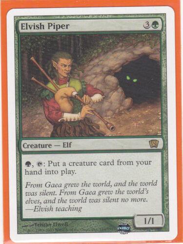 Rare Card  ELVISH PIPER  Never played MTG Magic 1 x  8th Edition Core