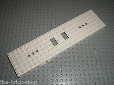 LEGO white Train Base 6 x 24 ref 6584 / Set 7897  Passenger Train