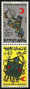 Morocco-1971-SG-303-4-Jewellery-MNH-Set-D49394