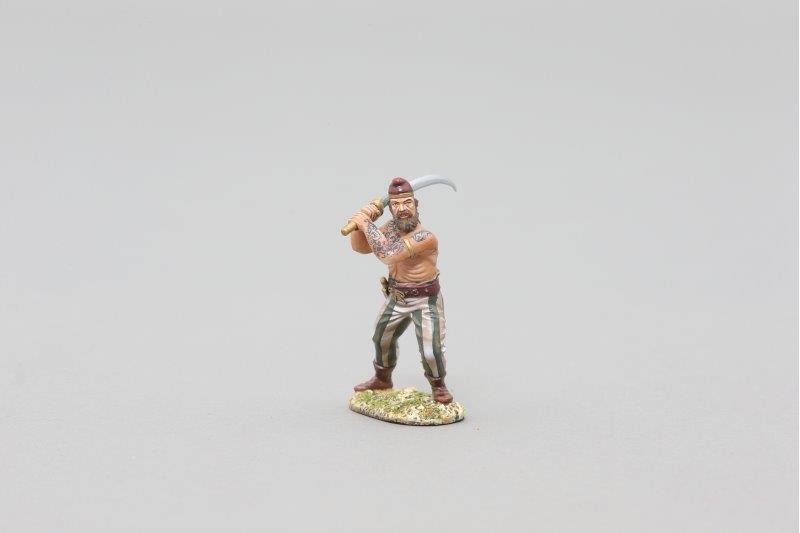 THOMAS GUNN ROMEN001 - Dacian (Tattooed) Painted Metal Figure