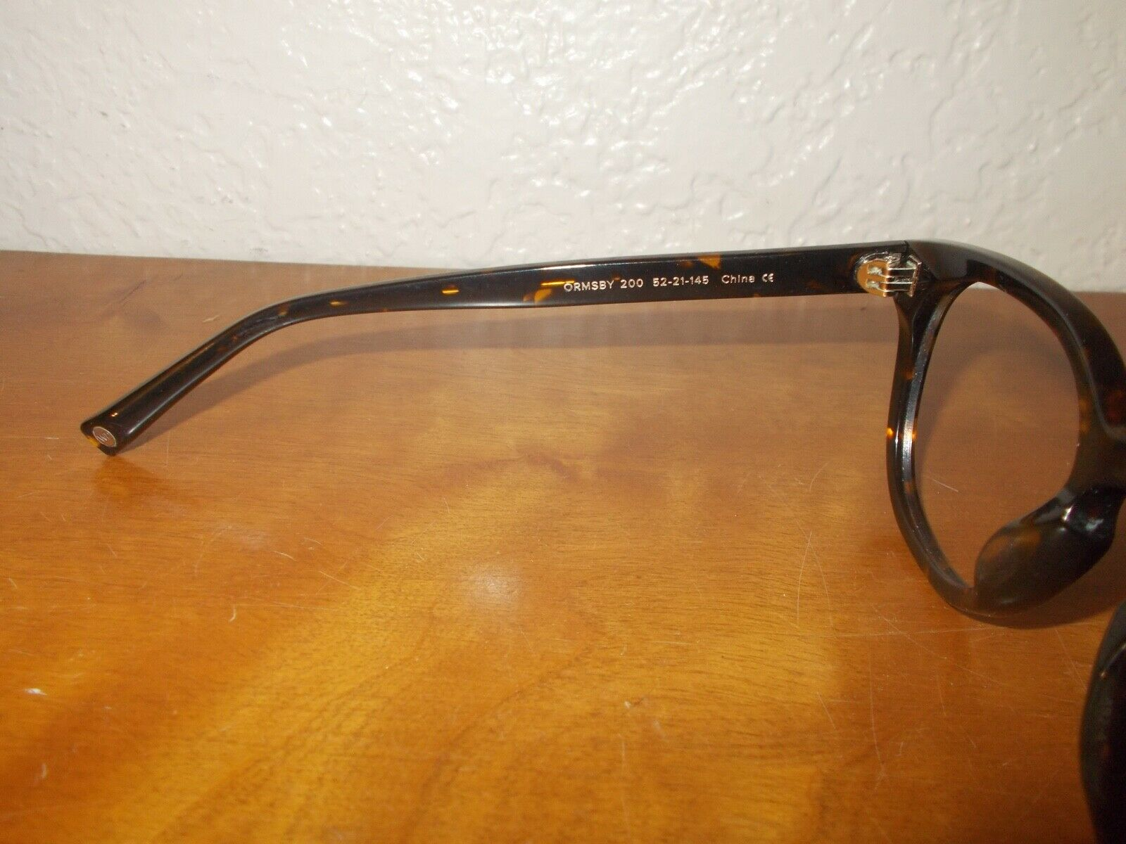 Warby Parker Ormsby 200 Tortoise Frame Sunglasses - image 6