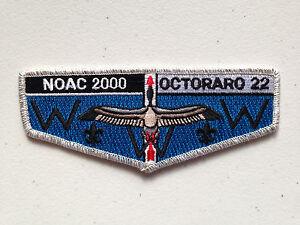 OCTORARO-OA-LODGE-22-SCOUT-SERVICE-PATCH-FLAP-2000-NOAC-DELEGATE-SMY-BORDER-MINT